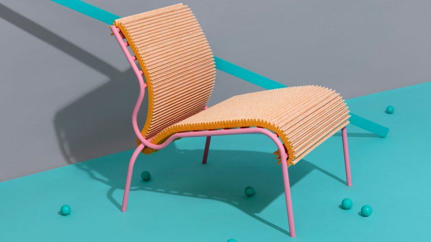 Dutch design collective exhibits products made from Colback materi