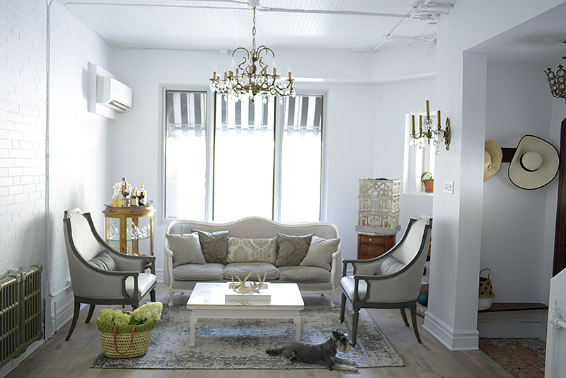 Living room Dining room makeover with Urban Barn | Eat Drink & Be .