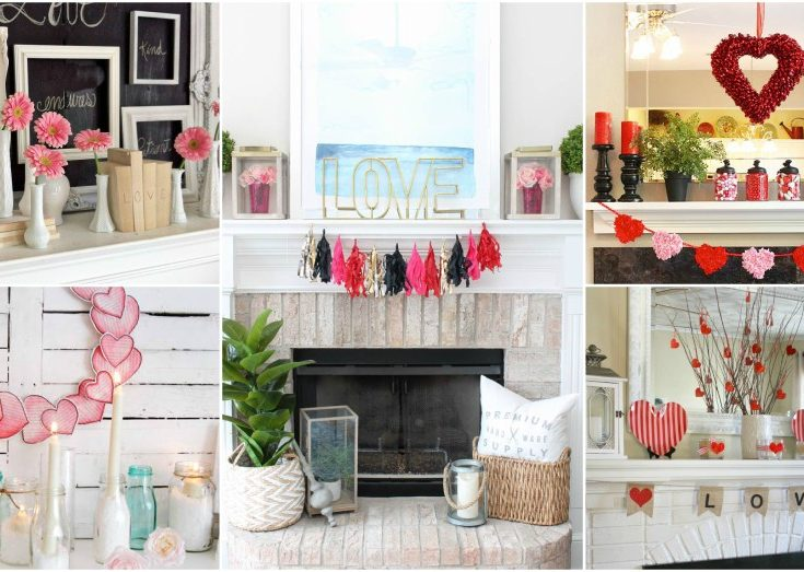 Valentines Day Mantel Decor Ideas And Tips To Make It Outstandi