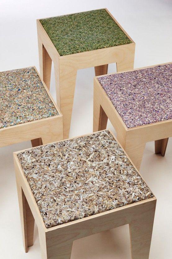 VALUE Furniture Upholstered With Old Paper Money | Muebles de .