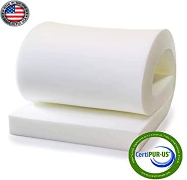 "Amazon.com: Isellfoam High Density Upholstery Foam 4"" T x 30"" W x ."