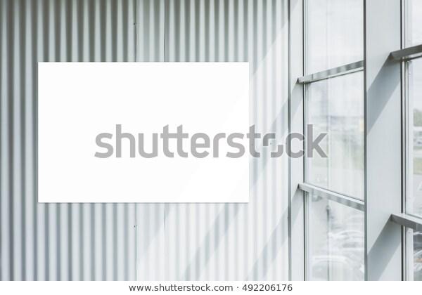 Background Modern Interior Loft Style White Stock Photo (Edit Now .