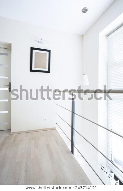Interior Entresol Modern Loft Vertical   Interiors Stock Image .