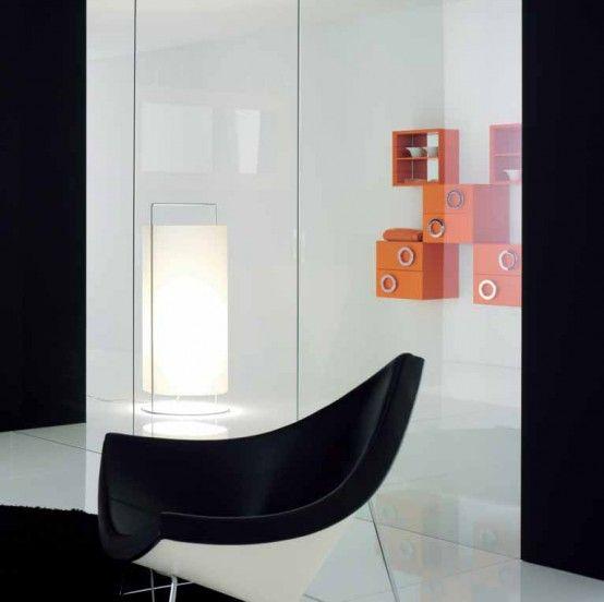 Coconut Chair - moderner Sessel: https://modecor.com/George-Nelson .