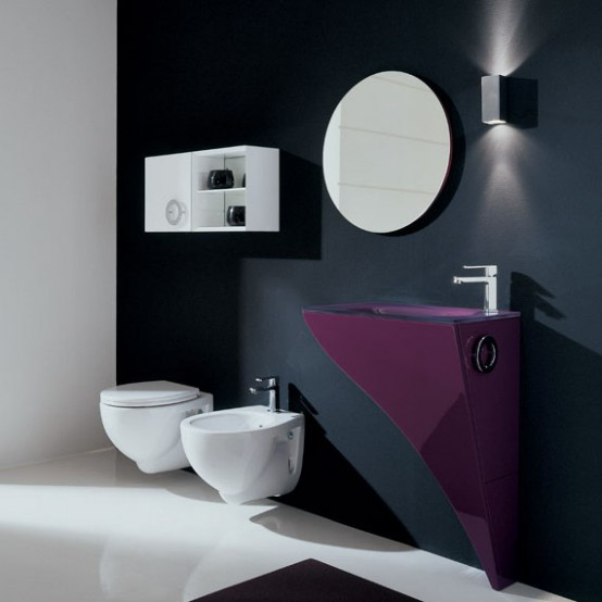 Very Elegant Modern Furniture for Small Bathroom - Happy by .