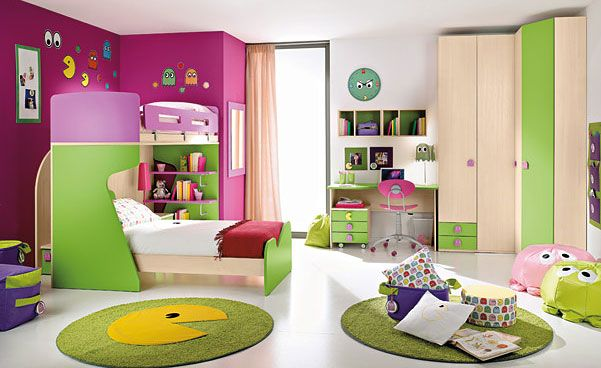 20 Very Happy and Bright Children Room Design Ideas | DigsDigs .