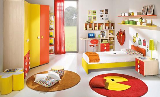 20 Very Happy and Bright Children Room Design Ideas - DigsDi