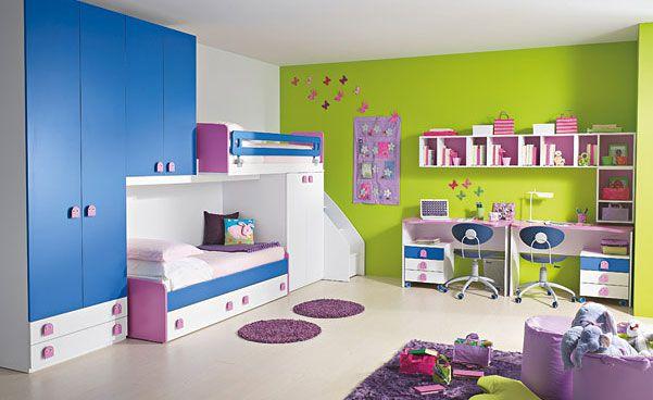 20 Very Happy and Bright Children Room Design Ideas | Schlafzimmer .