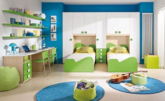 20 Very Happy and Bright Children Room Design Ideas | Yatak odası .