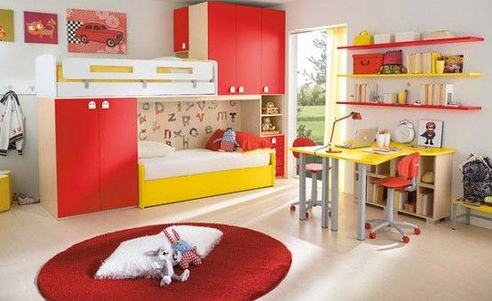 20 Very Happy and Bright Children Room Design Ideas | Kids .
