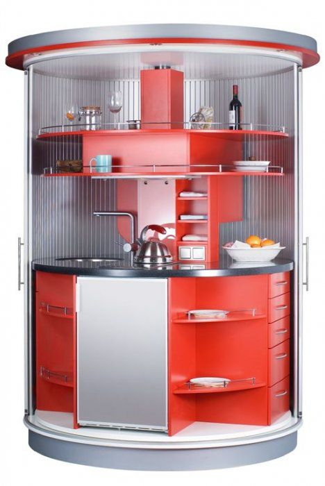 Very Small Kitchen Which Has Everything Needed – Circle Kitchen .