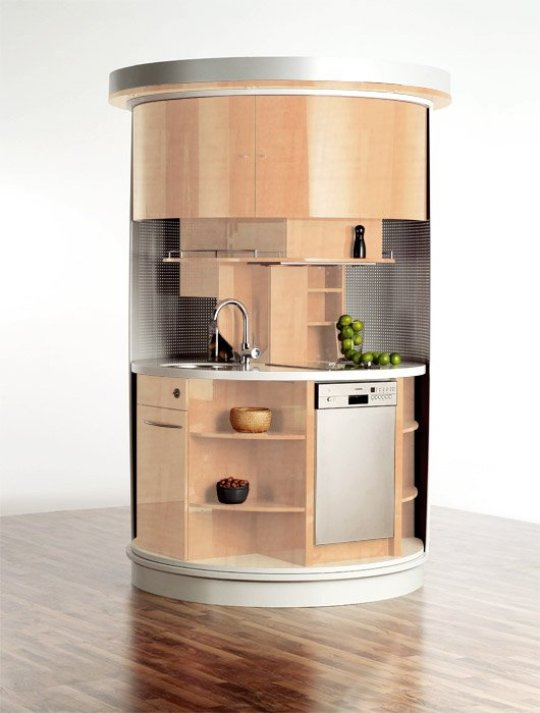 Circle® Kitchen For Small Spaces By Compact Concep