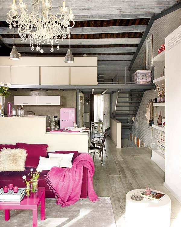 Unique vintage loft home in Barcelo