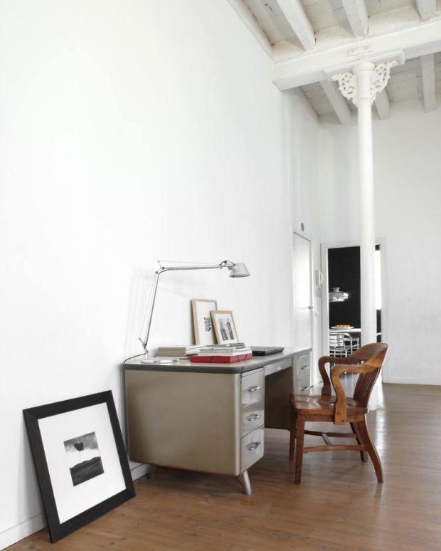 19 Photos Inside An Insane Barcelona Loft   Vintage home offices .