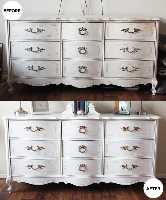 Refinished antique dresser – Melodra