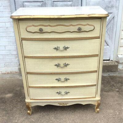 Vintage Dresser French Provincial Style Retro Sears Bonnet | eB