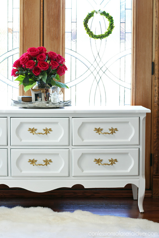 Grandma's Vintage Dresser Makeover | Confessions of a Serial Do-it .