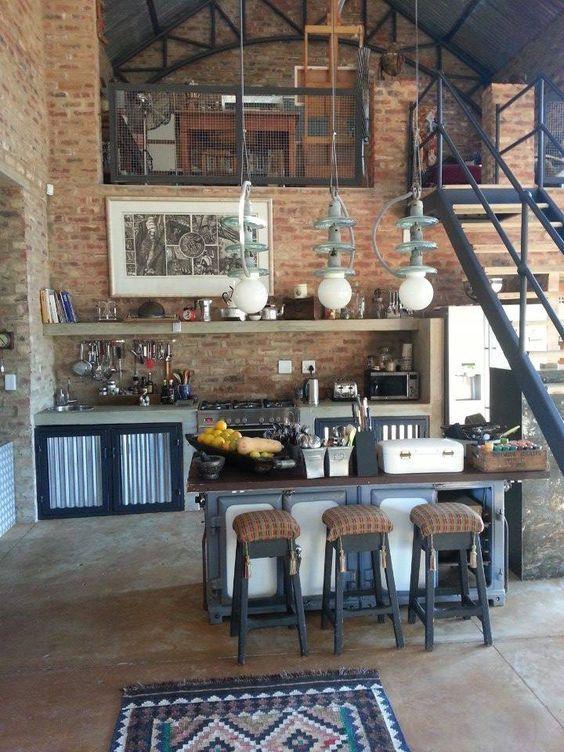 20 Dream Loft Kitchen Design Ideas | Decoholic | Loft design .
