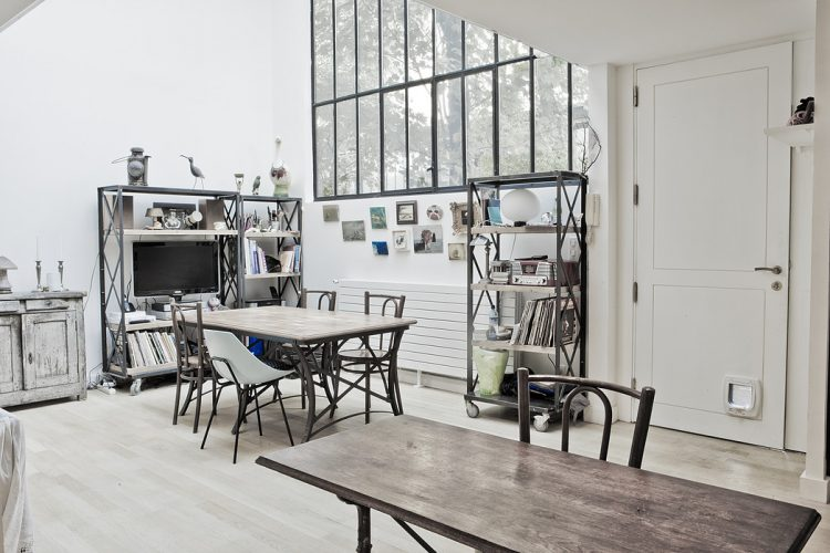 Vintage And Industrial Loft Design With Much Personality - DigsDi
