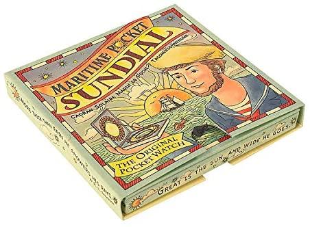 Amazon.com: Authentic Models, Maritime Pocket Sundial, Vintage .