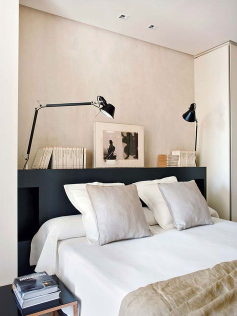 Vintage and modern design: apartment in 19th century building in .