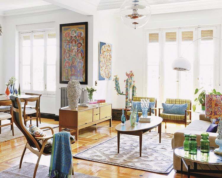 Creative apartment in Madrid | Best home interior design, Retro .