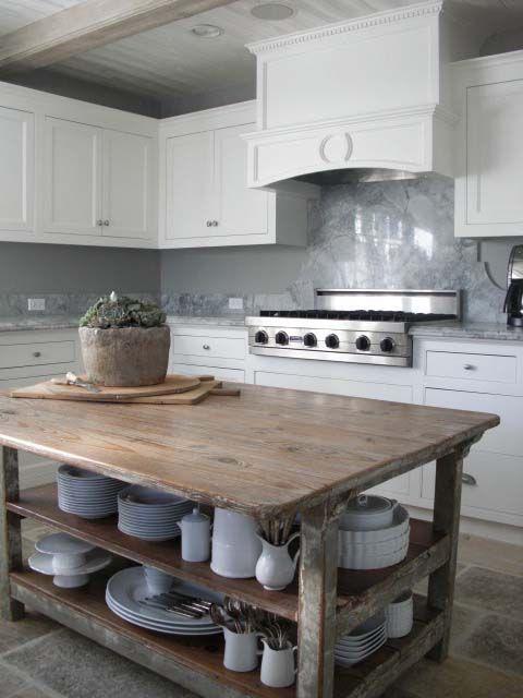 Wooden Vintage Kitchen Island Designs   Kitchen inspirations, Diy .