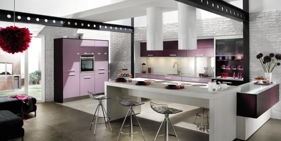 Violet Kitchen Inspiration - DigsDi