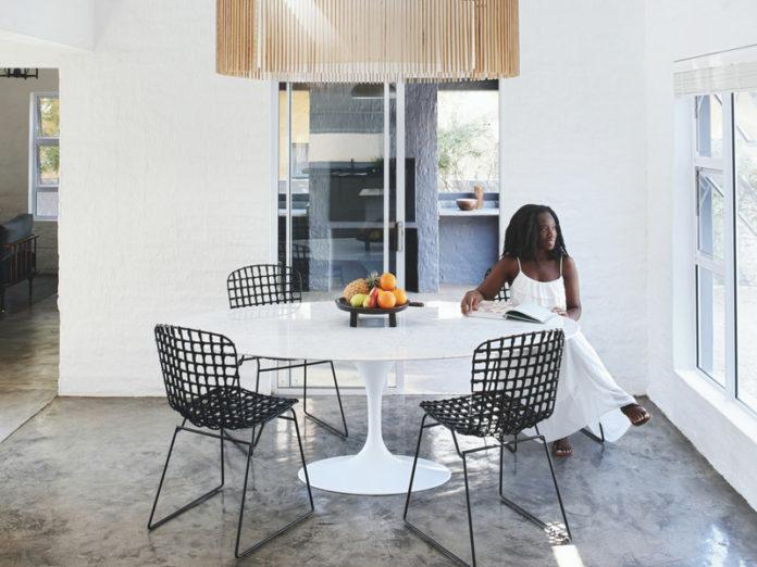 Wabi-Sabi Inspired Home With African Influence - DigsDi