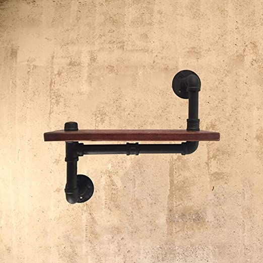 Amazon.com: Industrial Pipe Shelving Wall Mounted,Steampunk Real .