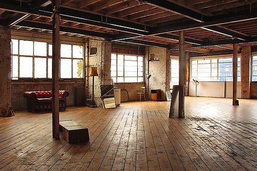 Marion WD- love this open space! | Warehouse living, Warehouse .