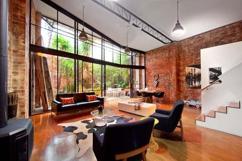 Warehouse to home conversion - urban livi