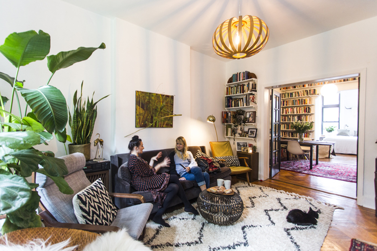 Warm, Eclectic One Bedroom | A Cup of
