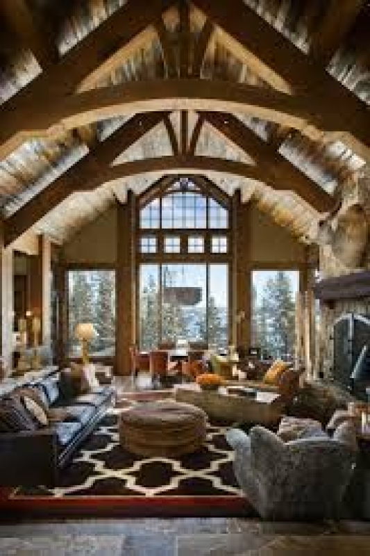 Apartment Warm Decor Ideas Eclectic Rustic With Sectional Small .