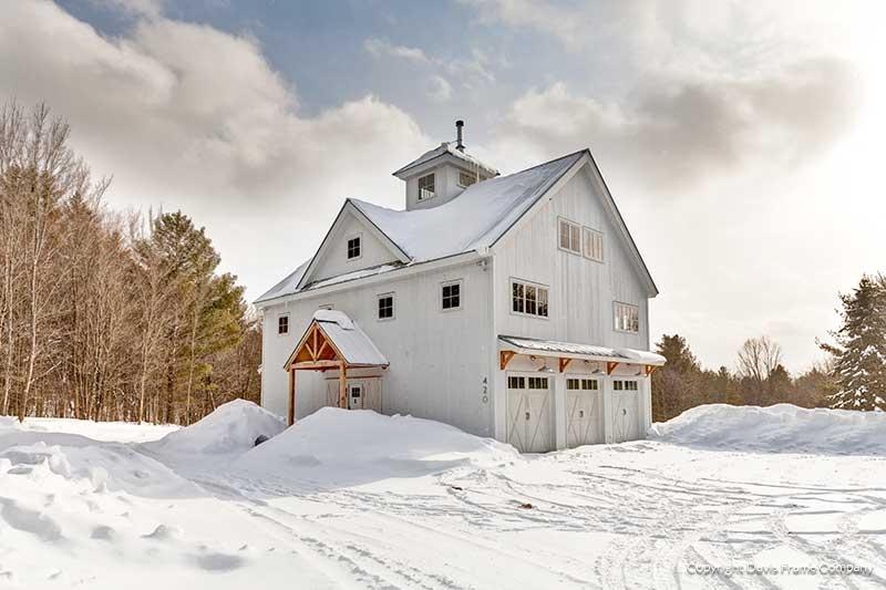 Vermont Barn Home Photos | Davis Frame Compa