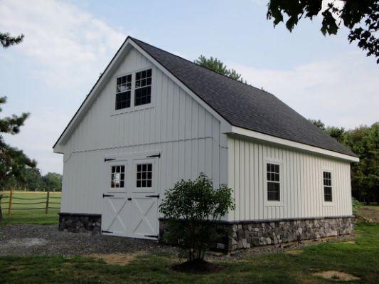 white barn grey barn black | Pole barn garage, Barn garage, Barn pla