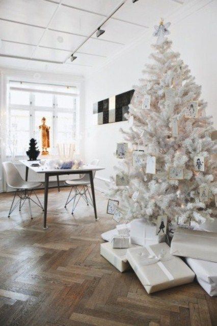 53 Exciting Silver And White Christmas Tree Decor Ideas | White .