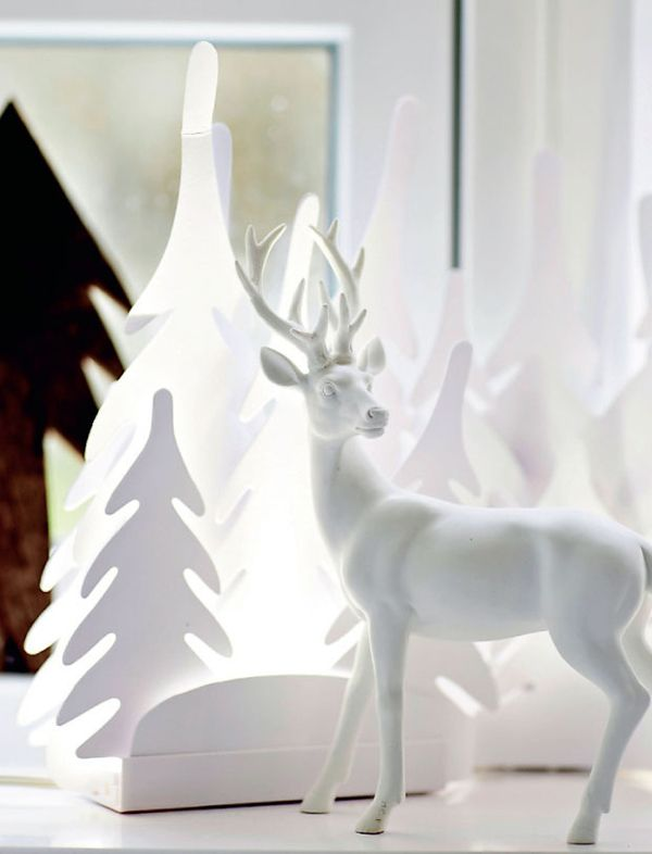 A SCANDINAVIAN HOME IN CHRISTMAS MOOD | THE STYLE FILES | White .