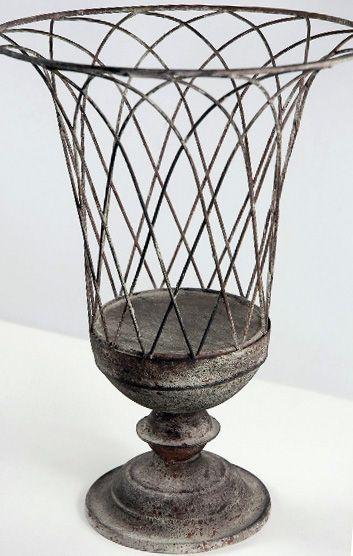 Wire Garden Urn (Save 44%)   Planters for sale, Garden urns, Cheap .