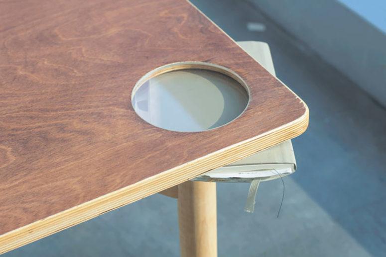 Modern Wobbling Table from George Duan-Furnitur