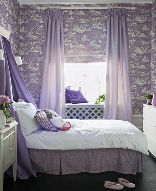 20 wonderful girls room design ideas - Ego - AlterEgo | Purple .