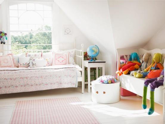 33 Wonderful Girls Room Design Ideas - DigsDi