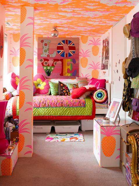 Wonderful Little Girls Bedroom Design Ideas Tropical Girl Bedroom .