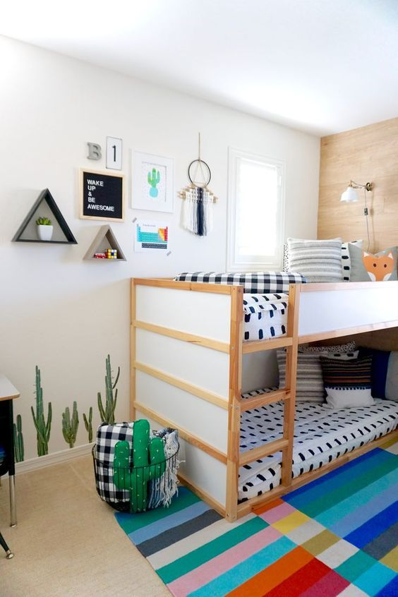 52 Wonderful Shared Kids Room Ideas For Boys and Girls | Kids .