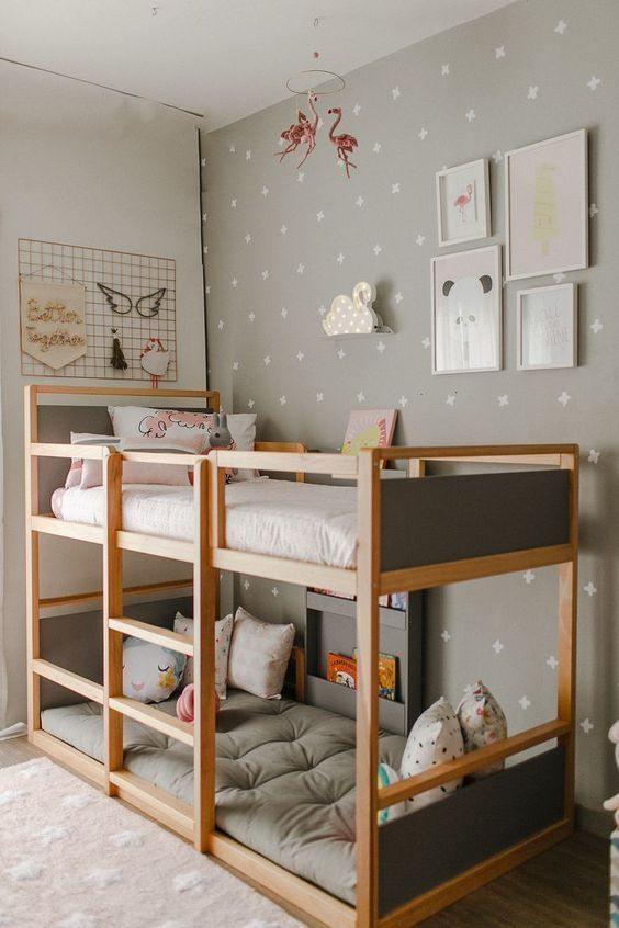52 Wonderful Shared Kids Room Ideas For Boys and Girls (With .