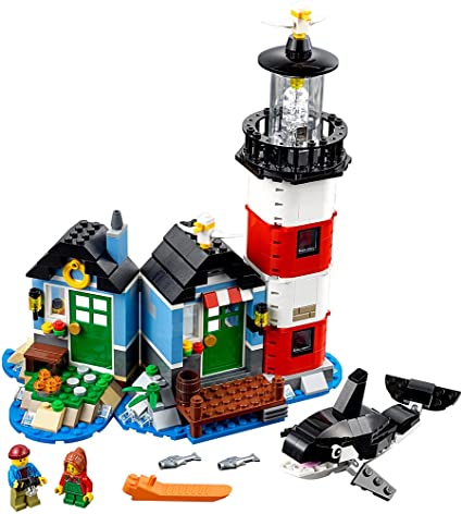Amazon.com: LEGO Creator Lighthouse Point 31051 Building Toy: Toys .