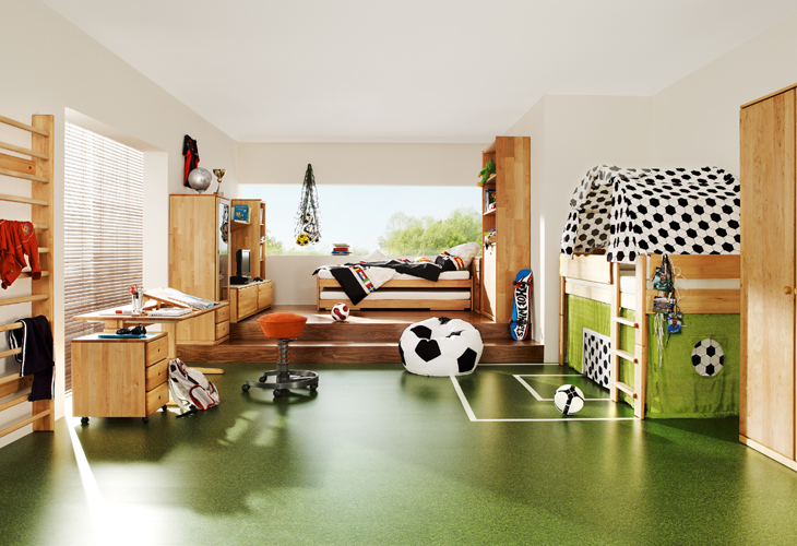 Wooden Furniture for Kids and Teens Rooms from Team 7 - DigsDi