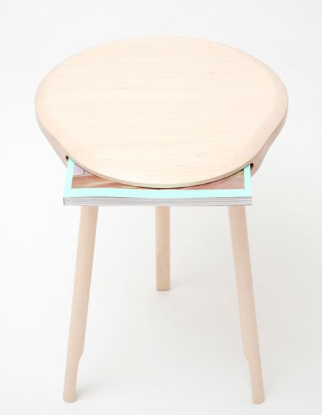 Andy Stool by Loic Bard   Wooden stools, Furniture design chair, Sto