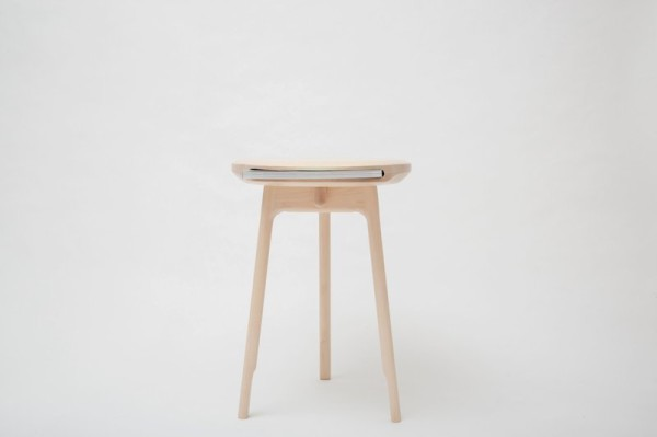 Simple Stool with Gaping Mouth for Magazines – Andy Stool - The .