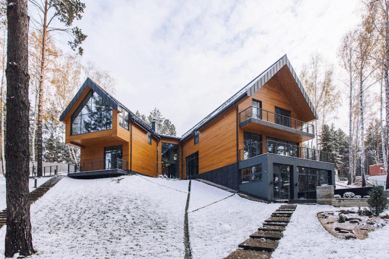 wood house design Archives - DigsDi